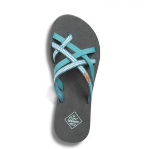 NWT Freewaters Supreem Sierra Sandals In Teal Size 9